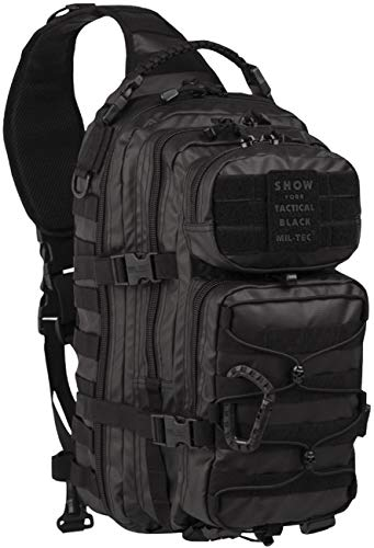 Mil-Tec One Strap Assault Pack Large Tactical Black