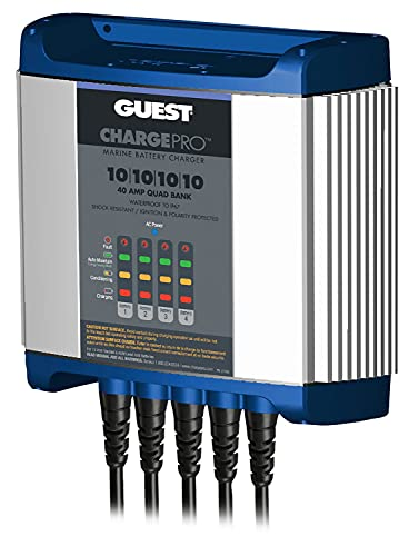 Guest On-Board Battery Charger 40A / 12V; 4 Bank; 120V Input, 2740A