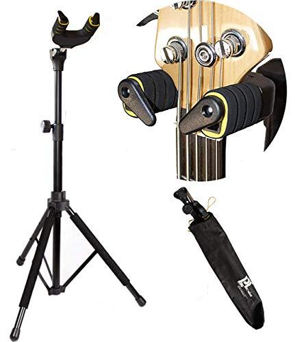 ProTecnika Supporto per Chitarra con Sistema AutoLock e Custodia Inclusa Stand Reggi Chitarra Universale Per Chitarra Elettrica Acustica Classica Basso