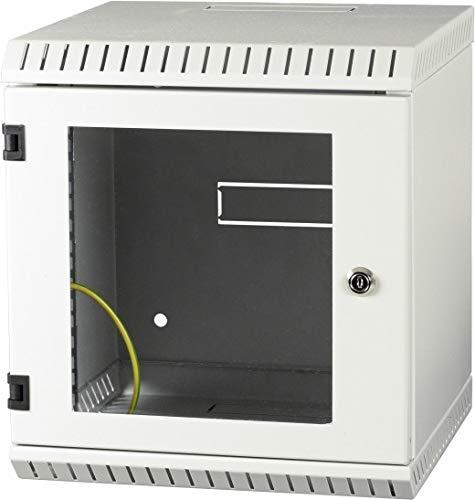 EFB-Elektronik Mini-Rack 10Zoll/9HE 691805 m. Sichttürlight Netzwerk-/Serverschrank 4049759208905
