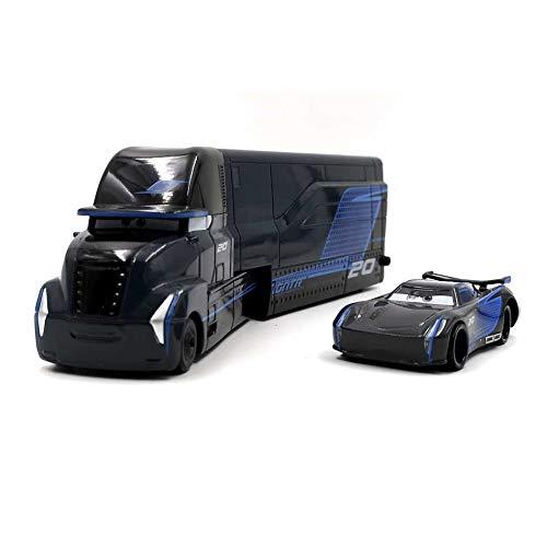 feiren Pixar Cars Toys Lightning McQueen Jackson Storm Mack Uncle Truck 1:55 Diecast Model Car For Children Color : Jackson Uncle (2pcs)