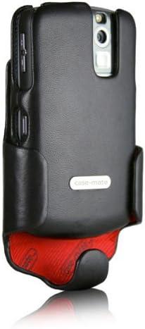 Case-Mate Holster Combo Curve Case for BlackBerry 8300 - Phantom Black Leather