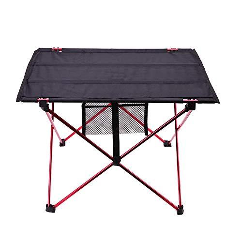 dingwen Mesa Plegable al Aire Libre Estructura de aleación de Aluminio Ultraligera Mesa de Camping Impermeable Muebles Mesa de Picnic Plegable