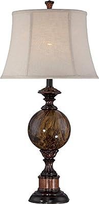 Lite Source C41294 Greighton Table Lamp, Antique Bronze