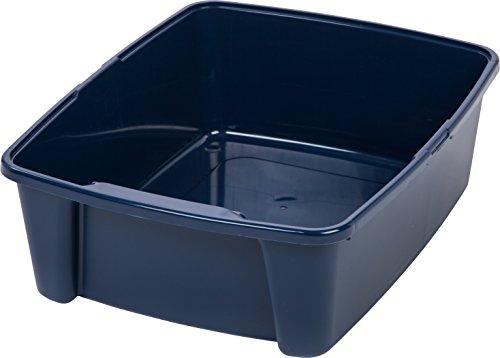 IRIS Open Litter Box, Blue