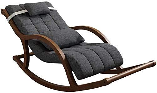 Silla mecedora, tumbona Chaise Lounge acolchada, silla de suelo para casa Lazy Sofá Chair Game Rocker