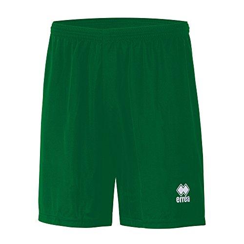 MAXI SKIN AD Trainingshose (knielang) von Erreà · ERWACHSENE Herren Damen Trainingsshorts (kurz) · REGULAR-FIT Bermuda Sporthose (komfortabel) für Teamsport · PERFORMANCE Running Sport Shorts (strapazierfähig) aus Polyester-Material · (Farbe grün, Größe XL)