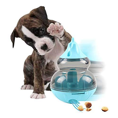 Dorime Perro Que se escapa Test Juego Perro Tipo Calabaza Laberinto Tumbler Fuga Juego Perro de Juguete Cubierta Transparente Alimentación Tazón Juguete