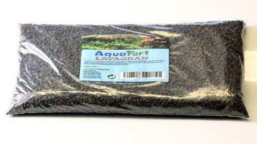 AquaFert Lavagran - Lavagranulat aus reinem Eifellavagestein Packungsinhalt 3,0 Liter, Körnung Standard
