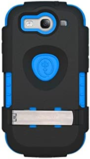 Trident Ams-I9300-Bl Kraken Ams Case for Samsung Galaxy S III - 1 Pack - Retail Packaging - Blue