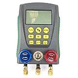 Sanfiyya Refrigeración Digital de Manómetros DY517 Coche acondicionador de Aire Temperatura Electrónico de Presión Manómetro Herramientas probador del calibrador Equipo de fábrica