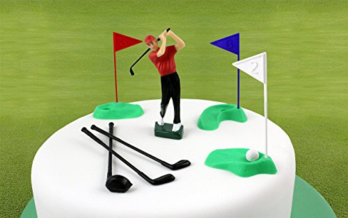 PME Golf Dekorationen/Kunststoff Zahlen, grün/rot/blau/weiß/schwarz, Set 13 - 2