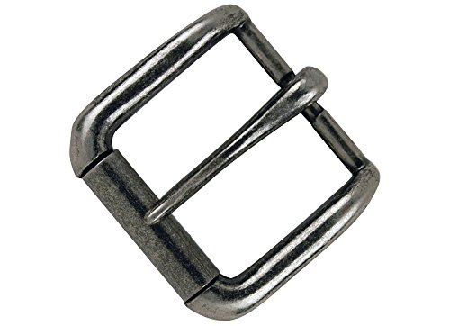Tandy Leather Napa Buckle 1-1 2  (38 mm) Antique Nickel Plate 1643-21
