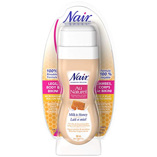Nair Roll-On Milk and Honey Wax (3.4 oz)