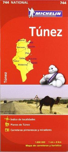 Mapa National Túnez (Mapas National Michelin)