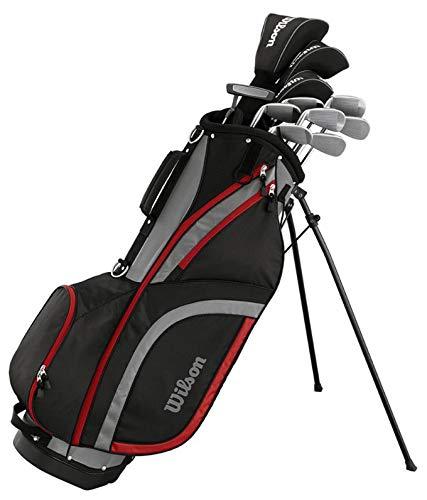 Wilson Matrix Herren Golfset/Golf Komplettset, Rechtshand, Stahl- & Graphitschäfte | +1 Inch
