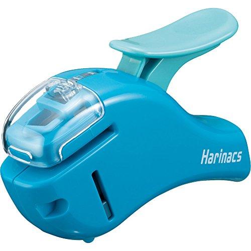 コクヨ ホッチキス 針なしステープラー ハリナックス コンパクトアルファ 青 SLN-MSH305B