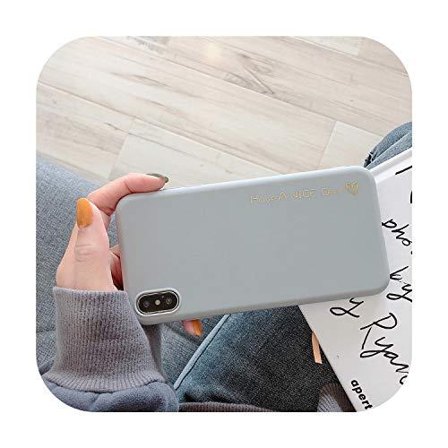 Cara sonriente Teléfono Caso Para iPhone 11 Pro 6 6s 7 8 Plus X XR XS Max Moda Graffiti Caramelo Color Carta Suave TPU Para iPhone X