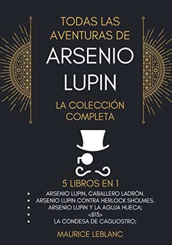 Todas Las Aventuras Arsenio Lupin Coleccion Completa 5 libros