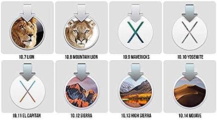mac OS Multiboot 8in1 USB 64gb Bootable [OSX Lion - Mountain Lion - Yosemite - Mavericks - El Capitan - Sierra - High Sierra - Mojave]