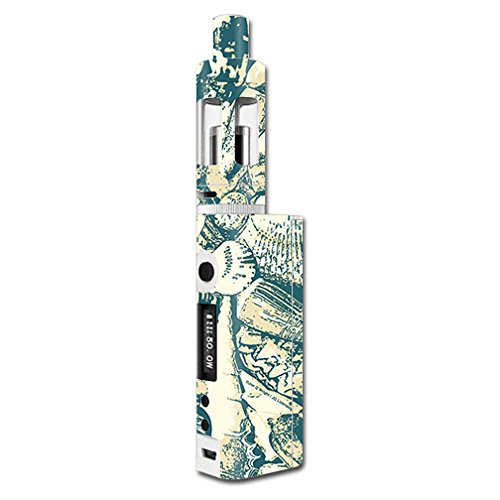 MightySkins Skin Compatible with Kanger Subox Mini Kit – Tan Seashells | Protective, Durable, and Unique Vinyl Decal wrap Cover | Easy to Apply, Remove, and Change Styles | Made in The USA