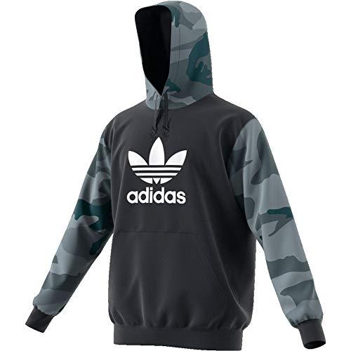 adidas Herren Camo OTH Sweatshirts L Carbon