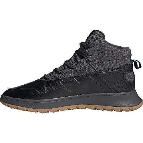 adidas Herren EE9706 Leichtathletik-Schuh, Schwarz Grau, 44 EU