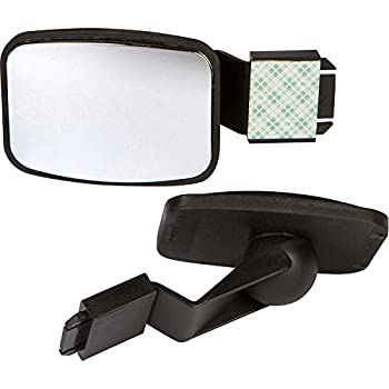 Cubicle Mirror to See Behind You Accessories for Office Desk Computer Convex Monitor Rearview Mirror