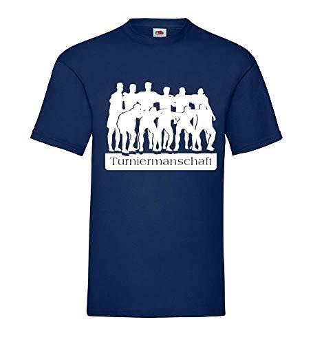 Shirt84.de - Camiseta para hombre, diseño de la selección alemana de fútbol 2012 azul marino XXXL