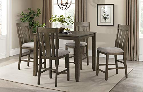 Lane Home Furnishings 5046-53 5-Pc. Counter Height Dining Set, brown