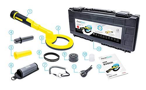 Nokta Makro PulseDive - Detector de buceo y puntero 2 en 1 amarillo
