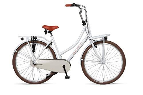 Hoopfietsen 28 Zoll Hollandrad Damen Love Dutch 3 Gänge Rollenbremse hinten Elfenbein 53 cm Rahmengröße