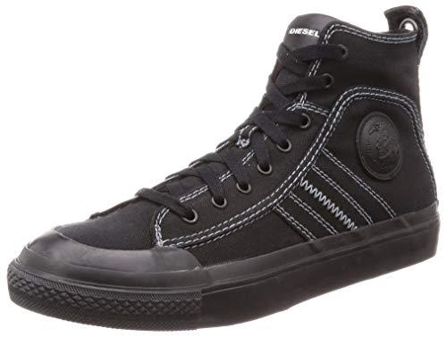 Diesel S-astico Mid Lace, Sneaker Uomo, Nero (Black T8013/Pr012), 41 EU