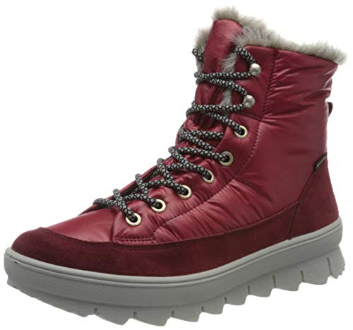 Legero Damen NOVARA Schneestiefel, Rot (RIO RED 5000), 40 EU, 6.5 UK