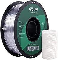 eSUN PETG Gloeidraad 1.75mm, PETG 3D Printer Gloeidraad, Dimensionale Nauwkeurigheid +/- 0.05mm, 1KG (2.2 LBS) Spoel 3D...
