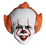 Rubie's IT Movie Chapter 2 Pennywise Vacuform Mask, As Shown, One Size