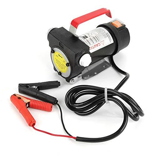 bizofft Bomba de Transferencia de Combustible, Protección contra el óxido y la corrosión, Bomba de Transferencia de Combustible eléctrica, Bomba de Aceite de absorción rápida 12V 155W, para