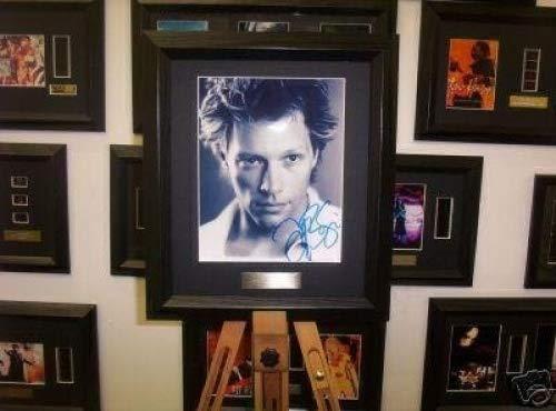 Gerahmtes Autogramm von Jon Bon Jovi.