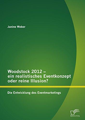Woodstock 2012 - ein realistisches Eventkonzept oder reine Illusion?: Die Entwicklung des Eventmarketings