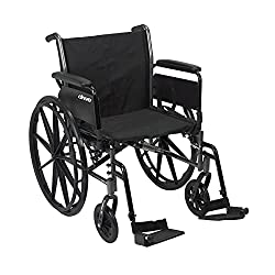 Best Narrow Width Self Propelled Wheelchairs # 3 - Drive Medical Self-propelled Wheelchair Cruiser III