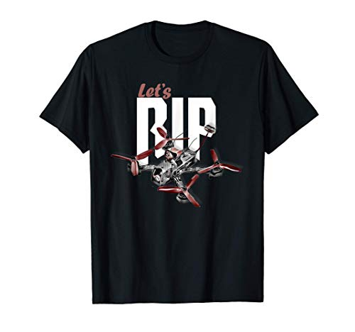 Piloto carreras de drones Freestyle drone racer FPV racing Camiseta