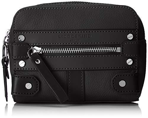 Liebeskind Berlin Neo Belt Bag Umhängetasche, Medium (12 cm x 16 cm x 5cm), black