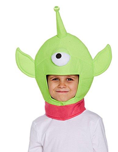 Boys Girls One Eyed Monster Hat Para El Niño de Juguete Space Alien Story Book Fancy Dress By Henbrandt