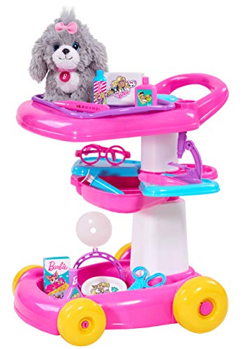 Barbie Pet 18-Inch Care Cart (10-pieces)