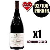 X1 Saint-Joseph'François de Tournon' 2013 75 cl Domaine Delas AOC Saint-Joseph Vin Rouge