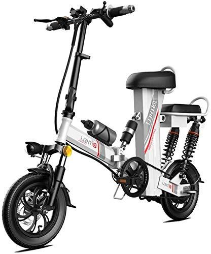Ebikes, elektrisches Faltrad 12'mit Abnehmbarer 48V 350W 30Ah wasserdichte und staubdichter...