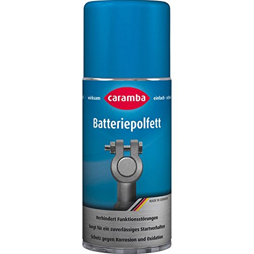 Caramba 645301 Batteriepolfettspray, 100 ml
