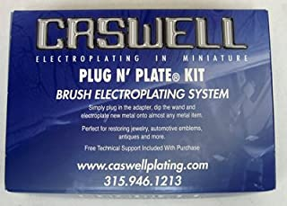Caswell Plug N' Plate Nickel/Copper Electroplating Kit