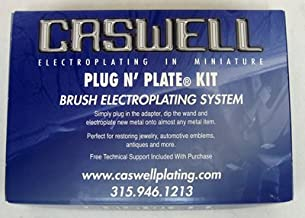 Caswell Plug N' Plate Copy Chrome Electroplating Kit