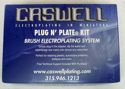 Caswell Plug N' Plate Silver Electroplating Kit